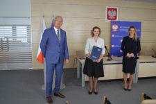 Na zdjęciu: Krzysztof Marek Nowacki, Jolanta Agnieszka Opaluch, Małgorzata Hochleitner