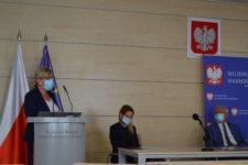 Renata Iłeczko przemawia