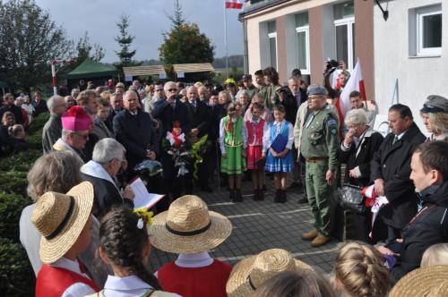 Erwin Kruk patronem szkoły w Elgnówku (07.10.2017)